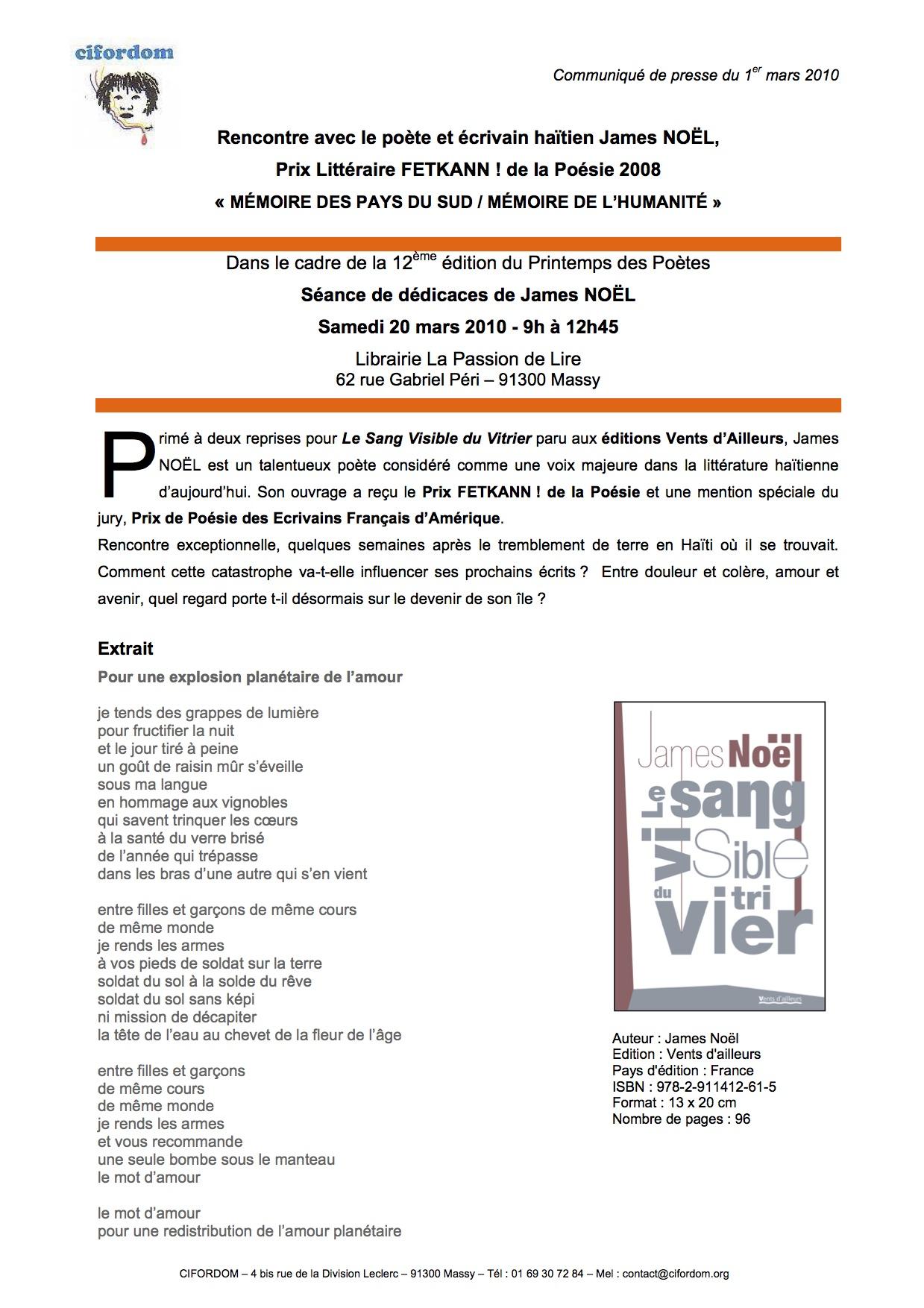 CommuniquédédicacesJamesNoël20_03_2010-1