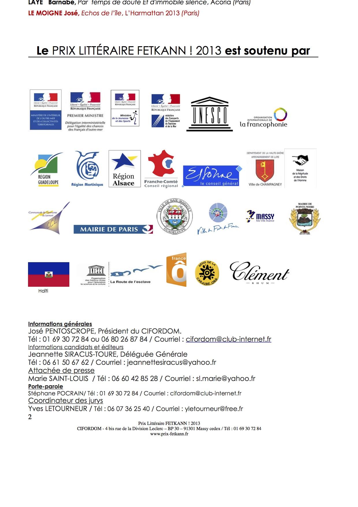 CP Prix_FETKANN_les pressentis_2013-2