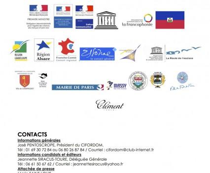 Annonce des lauréats Jeudi 20 novembre 2014 lors de la remise des prix au Café de Flore à Paris-3