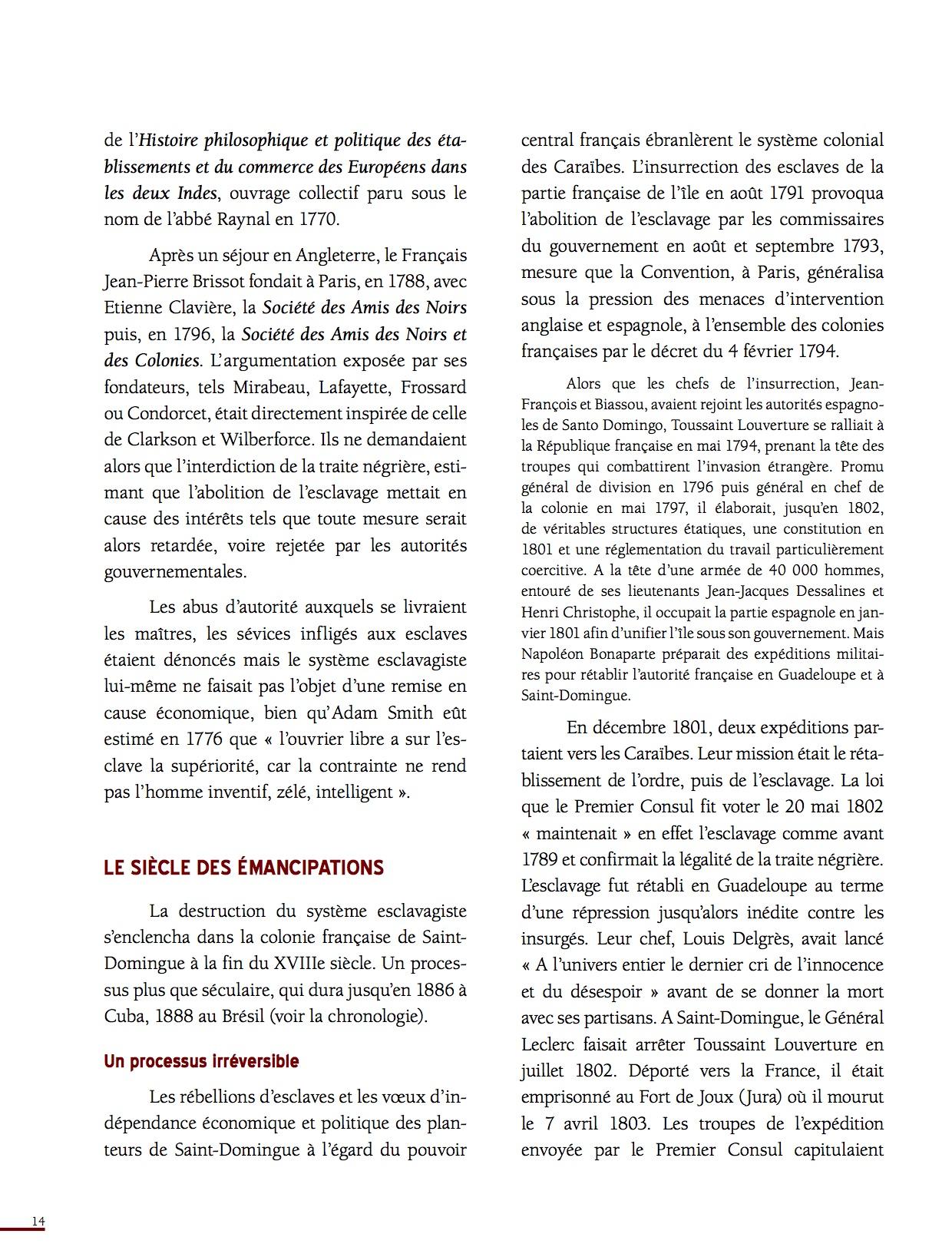 Unesco Luttes contre l'esclavage-14