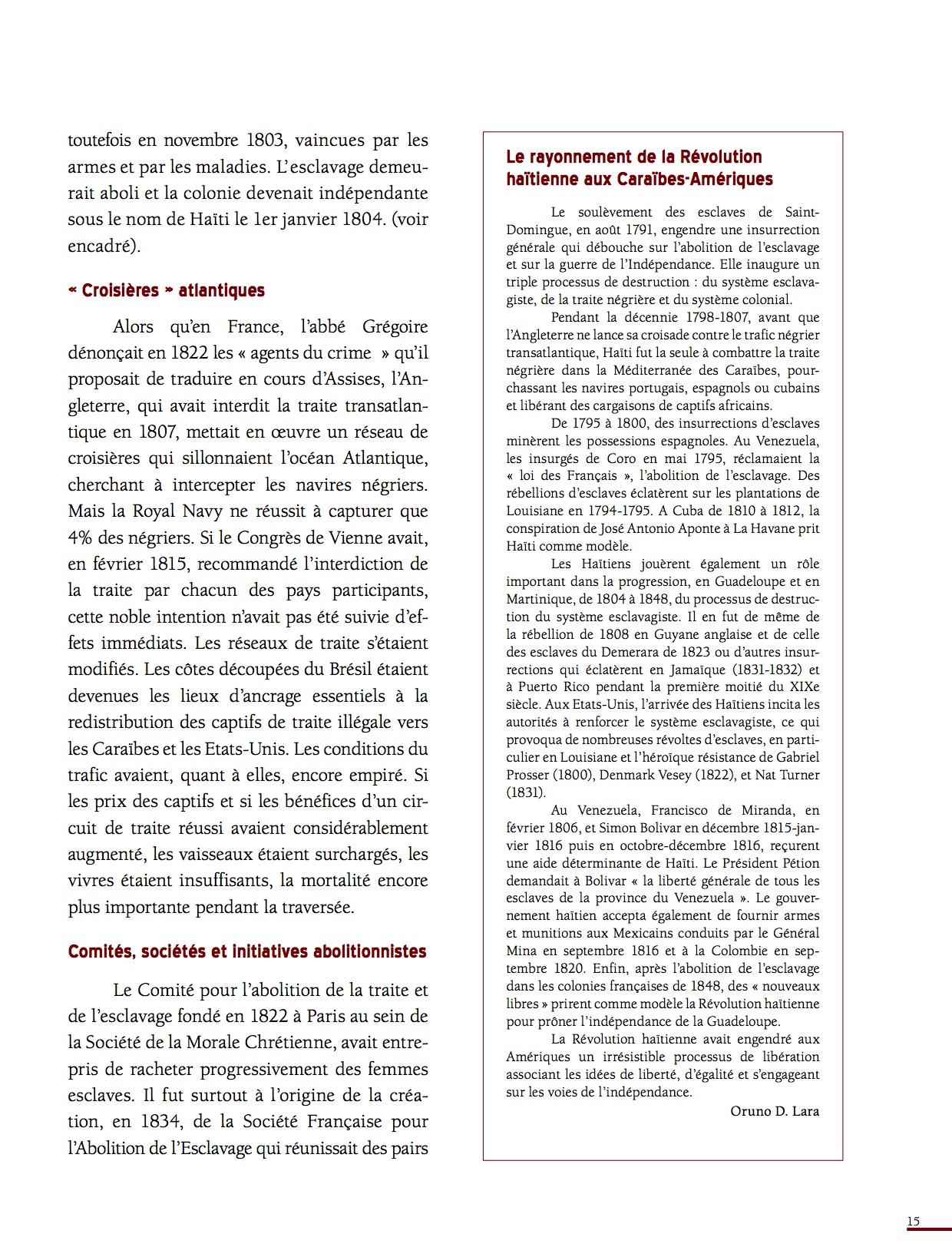 Unesco Luttes contre l'esclavage-15