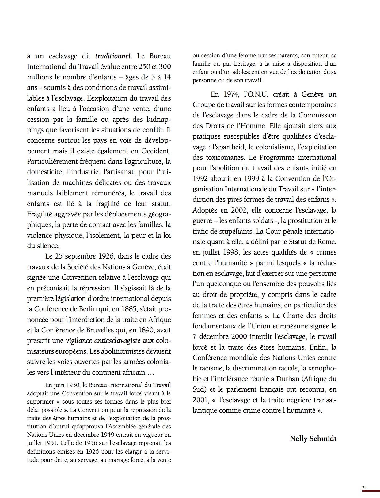 Unesco Luttes contre l'esclavage-21
