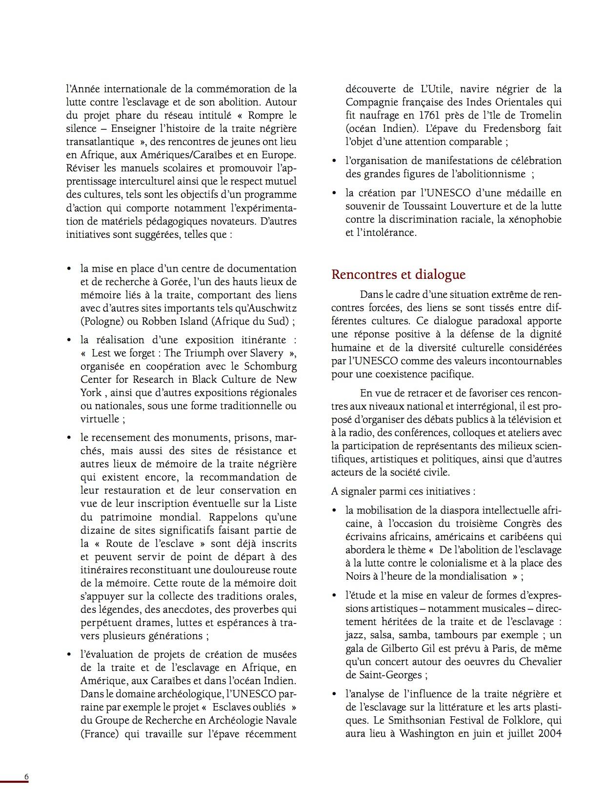 Unesco Luttes contre l'esclavage-6
