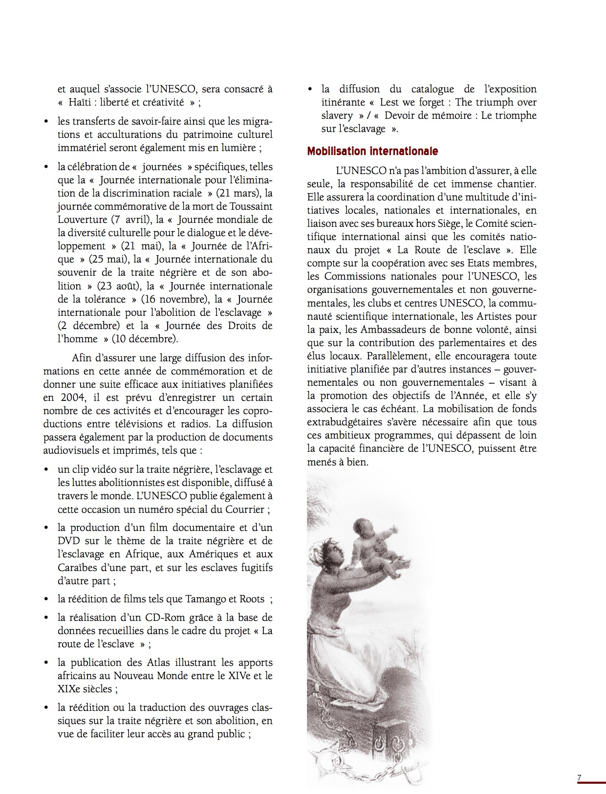 Unesco Luttes contre l'esclavage-7