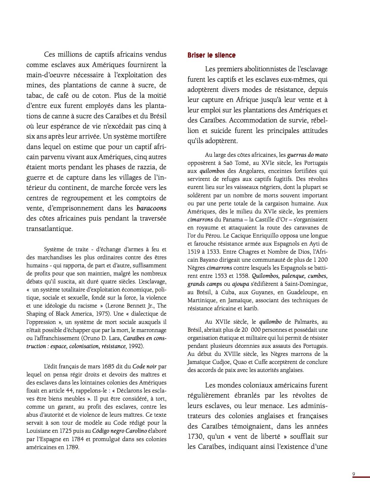 Unesco Luttes contre l'esclavage-9