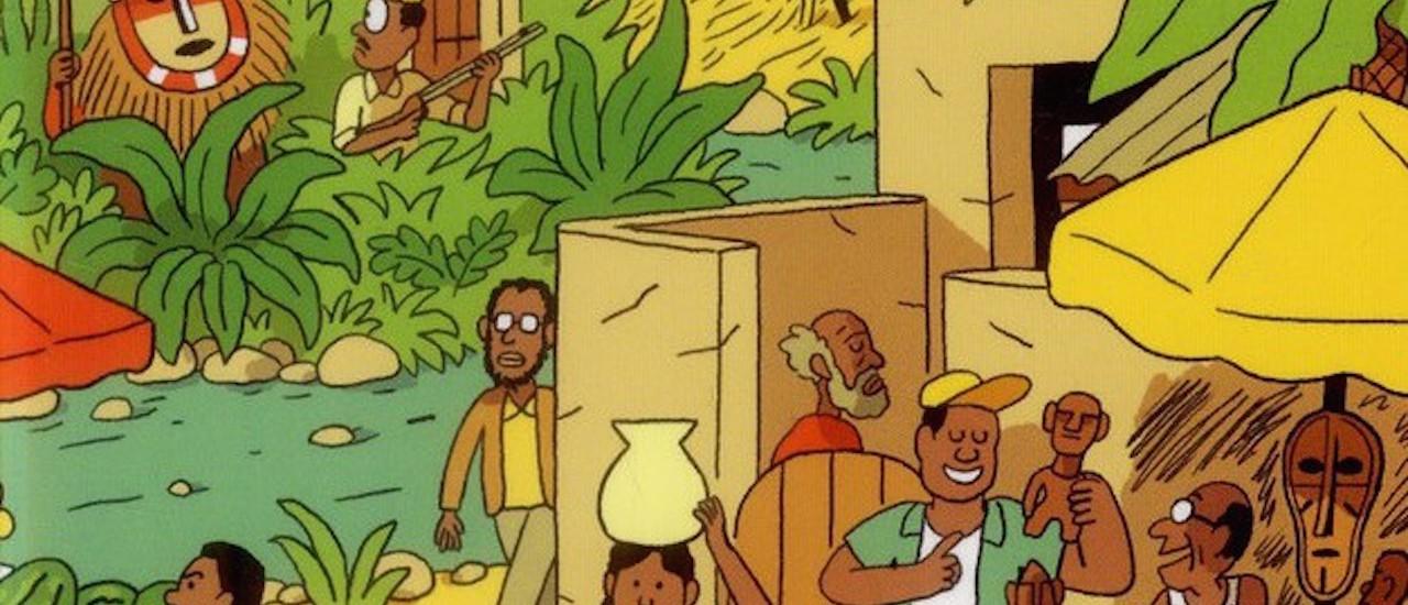 SCHEIDHAUER Natacha et CAUT Vincent, L'Afrique à petits pas